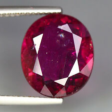 6.58 CTS_SHIMMERING ULTRA REDDISH PINK COLOR_100 % NATURAL RUBELLITE TOURMALINE