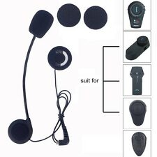 Mic/Speaker/Hard cable Headset for Motorcycle BT Helmet FDC F Series Intercoms