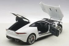 Autoart  JAGUAR F-TYPE 2015 R COUPE POLARIS WHITE 1/18 Scale New! In Stock!