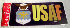 USAF License Plate From Car Tags (United States Air Force) Show Your Support!