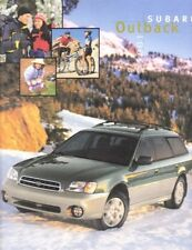 2001 01 Subaru Outback original sales brochure