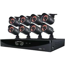 Night Owl F6-81-8624N 8 Camera 8 Channel DVR Video Security System