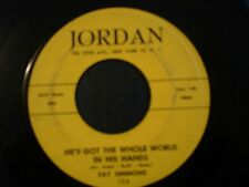 FAY SIMMONS WHAT;S THE REASON 45 HE'S GOT THE WHOLE WORLD IN HIS HANDS JORDAN
