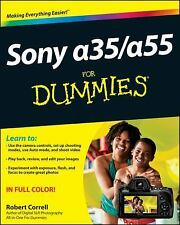 Sony Alpha SLT-A35/ A55 for Dummies by Robert Correll (2012, Paperback)