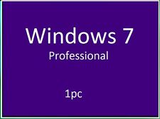 Microsoft Windows 7 professional 32/64 bit Produkt Key + Downloadlink.1pc
