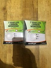 2x FireAngel CO-9X Carbon Monoxide Detector , 7 YEAR LONG LIFE