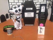 LilWickidz Plush Zombie - Stitches the Mummy Zombie Kitty