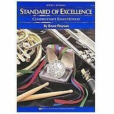 W22CL - Standard of Excellence Book 2 Book Only - Clarinet