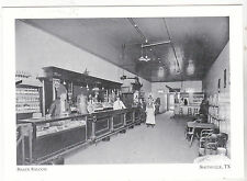 """+PC-Postcard-""""The Shade Saloon"""" (below Maney Opera House) Smithville Tx. (#77)"""