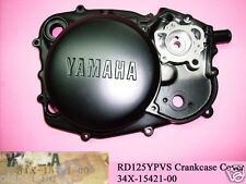 Yamaha RD125YPVS Crankcase Cover NOS RD125LC MK2 NEW Crank Cover 34X-15421-00