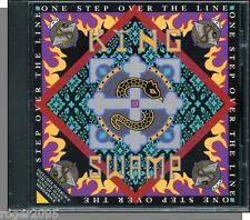 King Swamp - One Step Over the Line - New 1989 Promo Music + Radio Interview CD!
