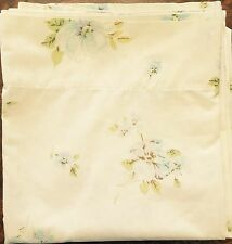 SPRINGMAID Wondercale Vintage Queen Size Flat Floral Sheet