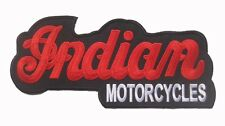 """Large Big Huge indian motorcycle Motorrad Kings Mountain Embroidered Patch 11"""" F"""