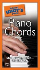 The Pocket Idiot's Guide to Piano Chords, Karen Berger, Good Book