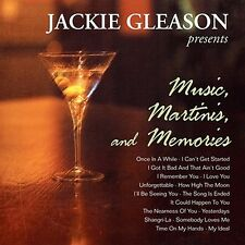 CD JACKIE GLEASON MUSIC MARTINIS MEMORIES ONCE IN A WHILE HOW HIGH THE MOON ETC