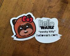 Star Wars Ewok Sticker Hello Kitty Decal Hellowars Family Hello Wars Vinyl