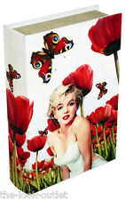 MARILYN MONROE STORAGE BOX THAT LOOKS LIKE A BOOK! A GREAT GIFT!