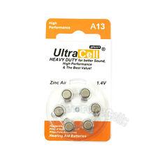 18 x Zinc Air Hearing Aid Battery A 13 7000ZD A13 S13A L13ZA 13A AC13E 13SA ZA13