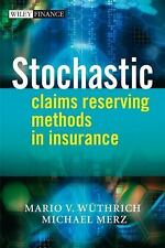 Stochastic Claims Reserving Methods in Insurance by Wüthrich, Mario V., Me
