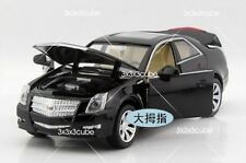 Kinsmart Black 1:32 Cadillac CTS Alloy Diecast Model Car Sound & Light Pullback