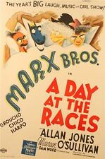 A Day At The Races Marx Brothers Vintage Movie Poster Lithograph Al Hirschfeld