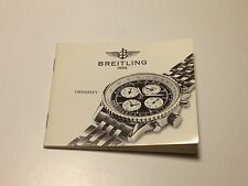 RARE VINTAGE BOOKLET FOR BREITLING TWINSIXTY WATCH