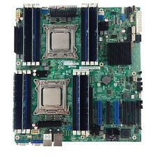 Intel S2600CP2J Motherboard Dual 2011 Socket 2 x E5-2670 SR0H8 CPU 64GB RAM