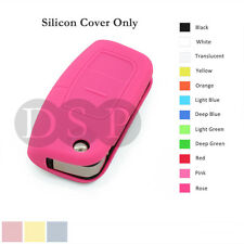 Silicone Cover fit for FORD Focus Mondeo Fiest Remote Key Fob Case 3 Button PK