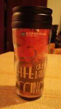 Norwegian Cruise Line tumbler drinking glass rare