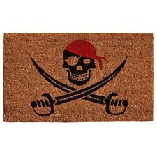 Halloween Decorations Outdoor Animated Pirate Mat Coir Fall Autumn Door Decor