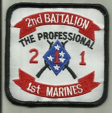 2ND BATTALION 1ST MARINES USMC MILITARY PATCH Camp Pendleton, California USA