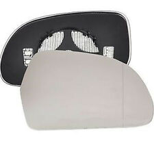 AUDI A6 (C6/4F) 2008-2010 LEFT side Heated Door Mirror Glass & Backing Plate