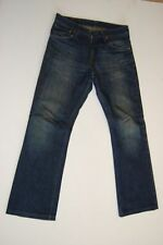 Levis 507 Jeans Hose azul oscuro stonewashed w29 l32