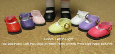 """Doll Shoes, 54mm DARK PINK Diamond Design Shoes - 13"""" Patsy, P91 Toni, others"""