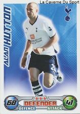 ALAN HUTTON # SCOTLAND TOTTENHAM RCD.MALLORCA CARD PREMIER LEAGUE 2009 TOPPS