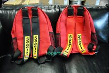 JDM RED BRIDE Fabric Racing Seat Backpack FIT S2000 NSX Civic EG EK DC2 DC5 AP2