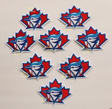 TORONTO BLUE JAYS MAPLE LEAF OFFICIAL MLB SLEEVE PATCH - COMBO DEAL 8 PATCHES