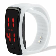 Fashion Men/Women Sport LED Waterproof Rubber Bracelet Digital Wrist Watch