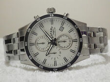 Rotary GB03636/06 Men's Luminous Chronograph Sports Watch RRP £180 - BRAND NEW