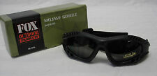 NEW - Military Tactical Mojave Shatterproof UV Rated SpecOp GOGGLES - SWAT BLACK