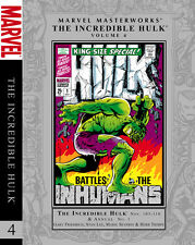 Marvel Masterworks: Incredible Hulk Volume 4 Incredible Hulk #103-110 NEW