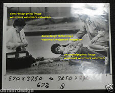 Original Press Photo - Injured Boy and Medical Staff - LA Times by ERIC DRAPER