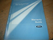 2002 FORD MUSTANG EXPEDITION EXPLORER THUNDERBIRD WARRANTY OWNERS MANUAL SUPPLEM