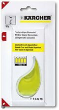Karcher Window Vac Cleaner, Concentrate (4x20ml) 6.295-302.0 wv50 wv60 wv75