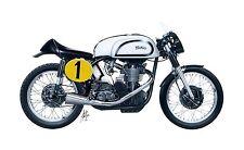 Italeri Norton Manx 500cc 1951 1:9  Italeri 510004602 Militär 4602