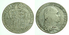 pci0278) Napoli regno Ferdinando IV grana 120 piastra 1795