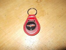 1970 CHEVROLET CHEVELLE SS RED CAR LOGO LEATHER KEYCHAIN KEYRING NEW RED