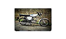 1978 simson s50b1 Bike Motorcycle A4 Retro Metal Sign Aluminium