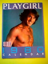 PLAYGIRL CALENDAR / 1980 / Gay Interest