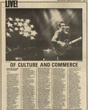 18/9/82Pgn47 Review & picture: Elvis Costello Live In Oxford